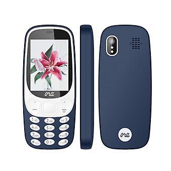 """Telefon komórkowy ORA Kira N2401 2,4"""" LCD Dual SIM FM Niebieski"""