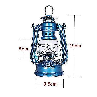 Camping lights lanterns 1pc vintage iron kerosene lamp portable mediterranean style oil light lantern outdoor camping hiking