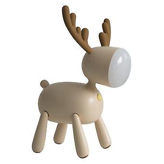 Weihnachten Elch LED Tischlampe USB Aufladen Nachtlicht universelle Tischleuchte