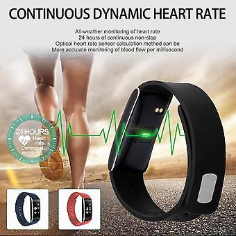 K8 0.96 «Oled Smart Bluetooth Bracelet Imperméable à l'eau Tensiomètre