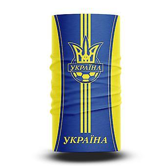 ネックガイターズフットボールヘッドスカーフワールドカップファン男性と女性多機能カラースポーツライディング日焼け止めビブ - ウクライナチーム