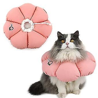 Katzenkegelhalsband, süße wasserdichte elisabethanische E-Halsband für Katzen, Anti-Biss Lick Wundheilung Sicherheit Katzenrettung Halsband, ganzjähriger Stil