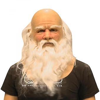 Een andere van mijn oude man kerstfeest grappig masker super zachte kerstman volwassene