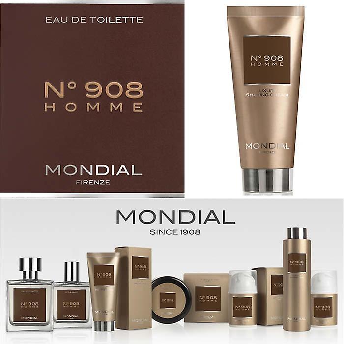 Mondial N°908 Homme Luxury Shaving Cream Soft In Tube 100ml