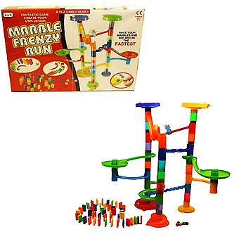 Marmeren Frenzy uitvoeren grote Race uw knikkers Kids speelgoed activiteit