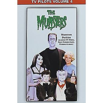 TV piloten 04: Munsters Rar [DVD] USA importeren