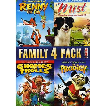Vol. 1-Family 4 Pack [DVD] USA import