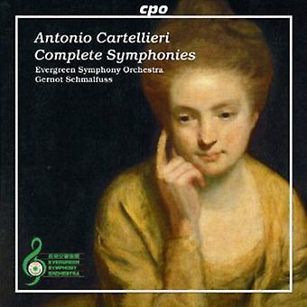 A.C. Cartellieri - Antonio Cartellieri: Complete Symphonies [CD] USA import