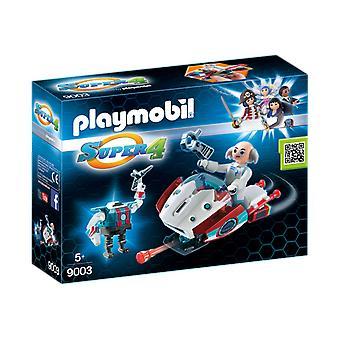 Playmobil 9003 Super 4 Skyjet med Dr. X och Robot