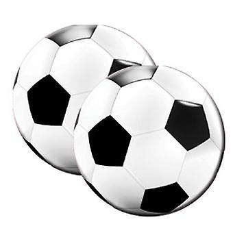 لكرة القدم الجولة منديل الطرف كرة القدم كرة القدم قطعة 20 الطرف عيد ميلاد