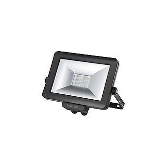 Timeguard Slimline Pro LED Floodlight, 10W, Negru