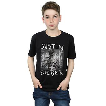 Justin Bieber Boys Purpose Album Cover T-Shirt