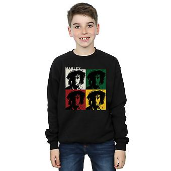 Bob Marley Boys Colour Blocks Sweatshirt