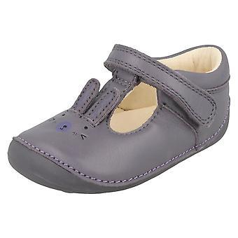 Jenter Clarks første sko med kanin Design lite Glo
