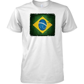 Brasilia Grunge Grunge vaikutus lippu - lasten T-paita