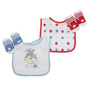 Piccolo principe/principessa 4 pezzi regalo Set baby ragazzi/ragazze
