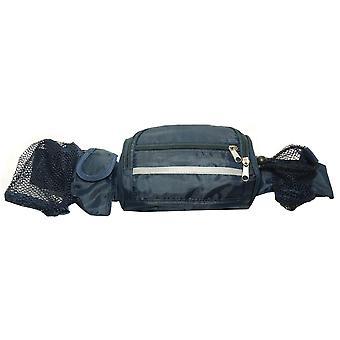 Oem Creative Rain Resistant Waist Bag With Concealed Jacket