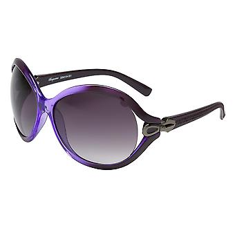 Elegant sunglasses for women by Burgmeister with 100% UV protection | solid polycarbonate frame, high quality sunglasses case, microfiber glasses pouch and 2 years warranty | SBM104-351 Miami