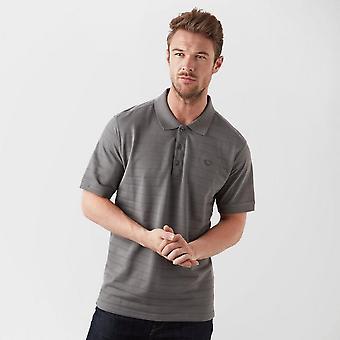 New Brasher Men's Travel Casual Polo Shirt Grey