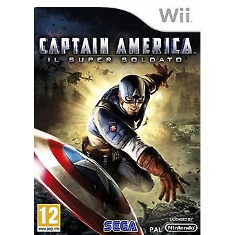 Captain America Super Soldier (Wii) - Nouveau
