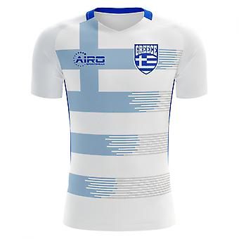 2020-2021 Greece Home Concept Football Shirt (Kids)