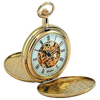 Woodford Full Hunter Skeleton Mechanical 1063 Watch