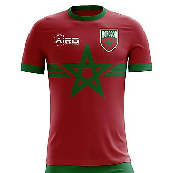 2020-2021 Morocco Third Concept Football Shirt - Little Boys