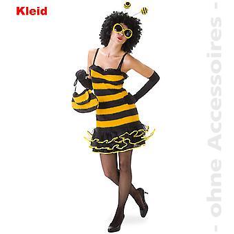 Bee kostyme damer bee drakt, bee Lady Bumblebee Brummer Lady drakt