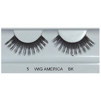 Perruque Amérique Premium faux cils wig494, 5 paires