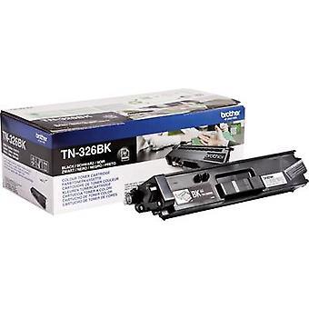 الأخ تونر خرطوشة TN-326BK TN326BK الأسود الأصلي 4000 الجانبين