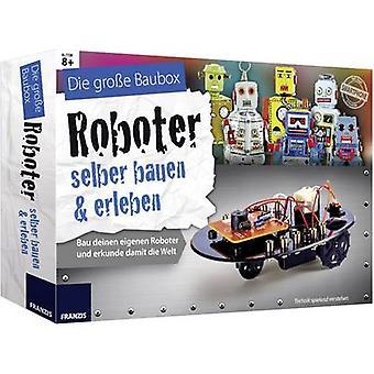 Franzis Verlag 65267 Robot-zelfbouwpakket Kursu materyali 8 yıl ve üzeri