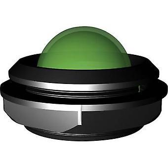 إشارة بناء مؤشر LED الضوء الأخضر الترا 12 V DC، 12 V AC 20 mA LDC20722