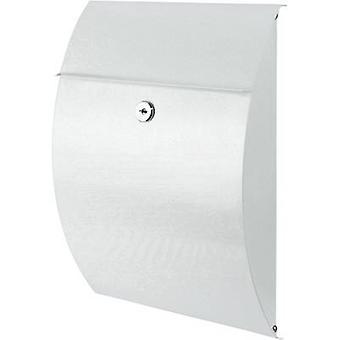 Burg Wächter 38700 CAPRI 813 W Letterbox Steel plate White Key