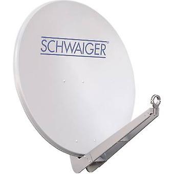 Schwaiger SPI085PW 011 satelitní pokrm, světle šedá