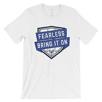 دالاس الخوف التي شيرت رجالي اليوم لعبة رسم مضحك قميص له