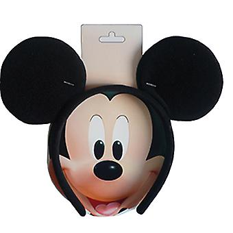 Mickey Mouse Haarreif Maus Ohren für Kinder schwarz
