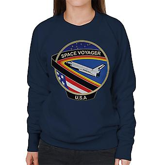 NASA STS 61C Space Shuttle Columbia Mission Patch Women's Sweatshirt