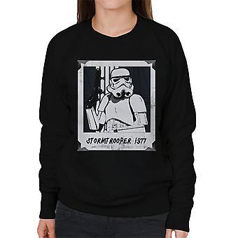 Original Stormtrooper Retro Frame Women's Sweatshirt