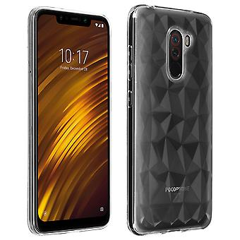 Forcell Prism Series soft TPU case for Xiaomi Pocophone F1 - Transparent
