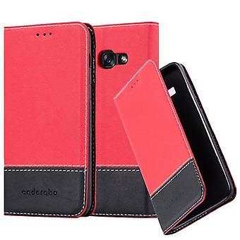 Cadorabo tilfældet for Samsung Galaxy a3 2017 sag Cover-telefon tilfældet med magnetisk lukning, stativ funktion og kort case rum-sag Cover sag sag sag case sag bog folde stil