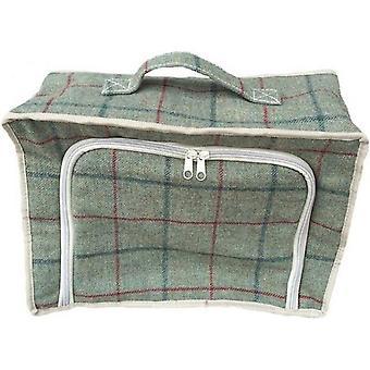 Yeşil Tweed Soğutucu Piknik Çantası