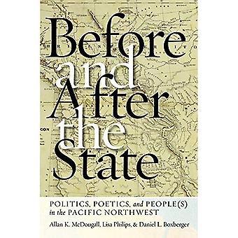 Avant et après l'état: la politique, poétique et occupant (s) dans le Pacifique Nord-Ouest