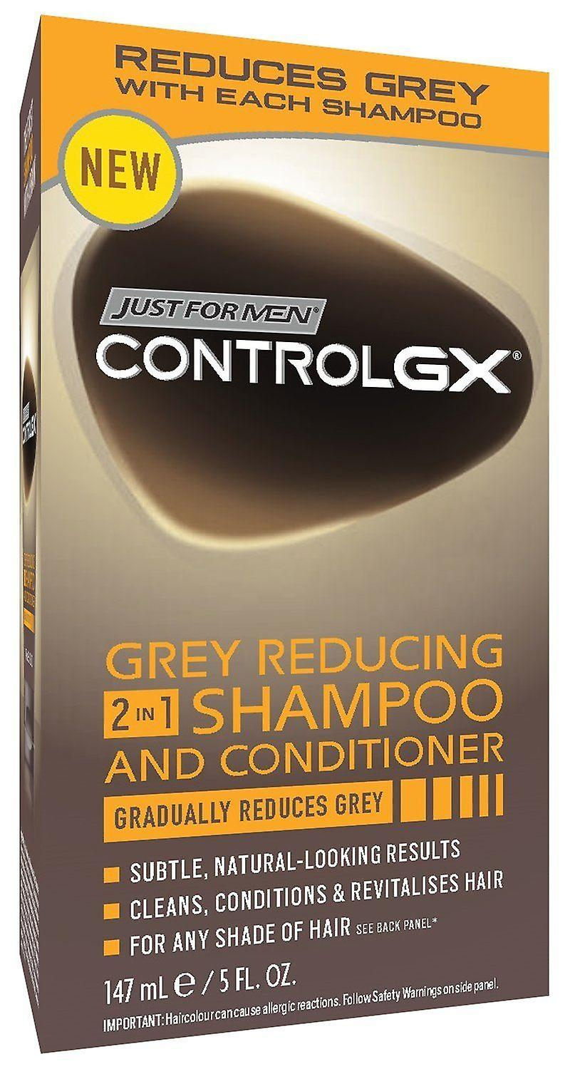 Just for Men Control GX Grey Reducing 2 in 1 Shampoo & Conditioner
