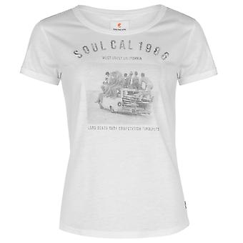 SoulCal Womens Deluxe Photographic T Shirt