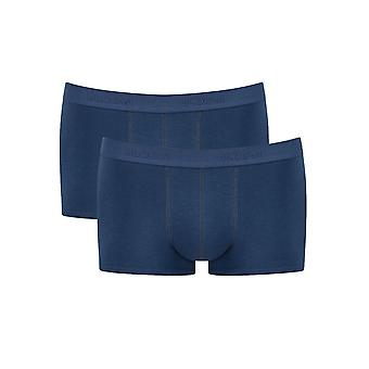 Sloggi Men 24/7 Hipster 2p 2 Pack Slips Midnight Blue (00tq) Cs