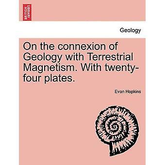 地磁気と地質の関係。寄稿プレート。ホプキンス ・ エヴァンで