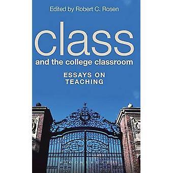 Classe et la salle de classe de collège par Rosen & Robert C.