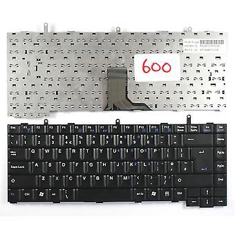 Teclado de portátil de Packard Bell EasyNote B3620 negro Reino Unido diseño reemplazo