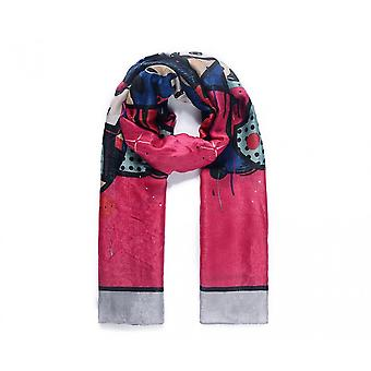 Intrigue Womens/Ladies Silk Like Abstract Print Scarf