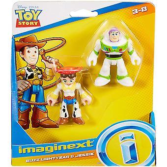Imaginext Disney Pixar Toy Story: Buzz Lightyear y Jessie